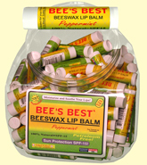 BEE'S BEST BEESWAX LIP BALM + SPF15!